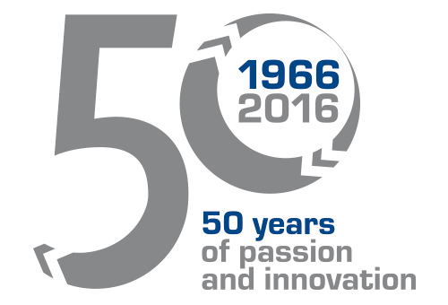 logo soga energy team 50 years