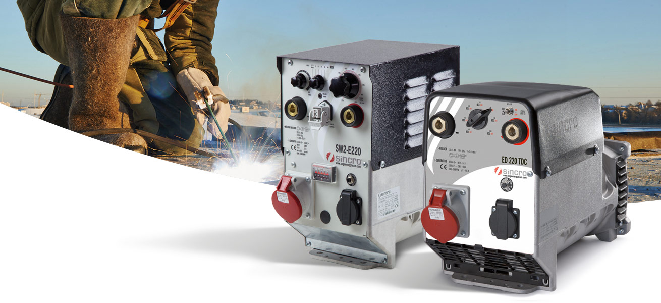 sincro rotating welders range