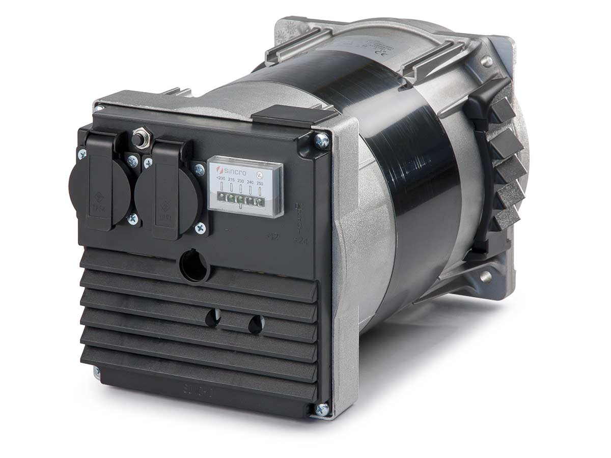single phase 2 poles IP23 alternator