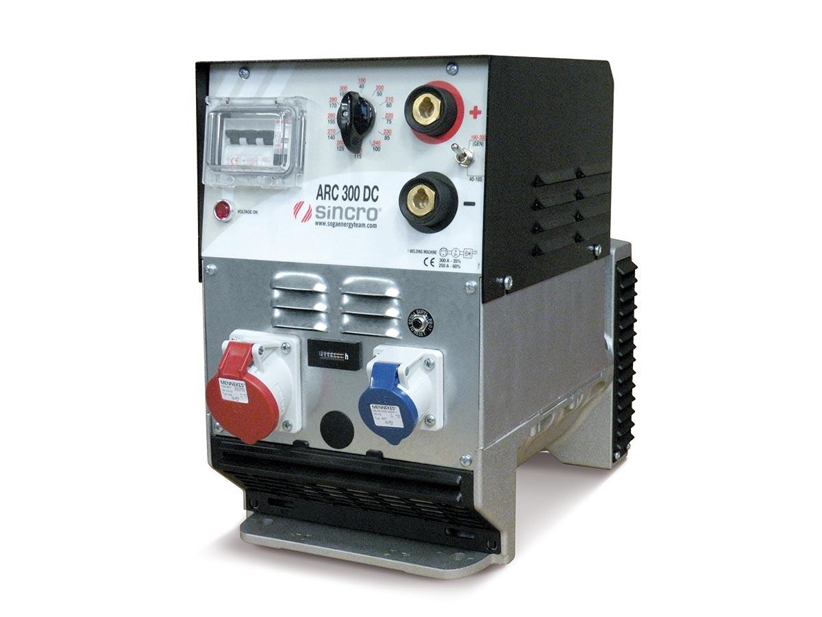 DC rotating welder 300A