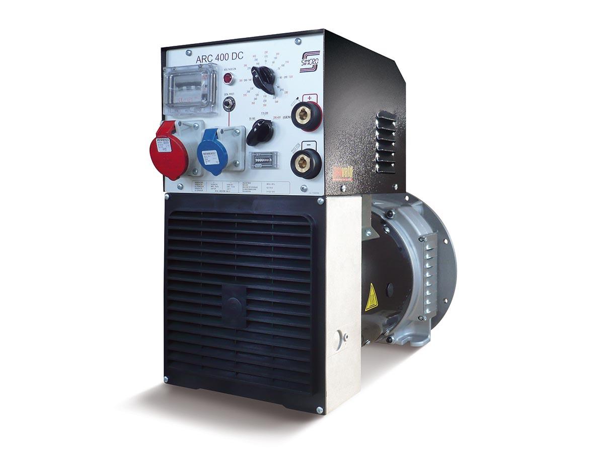 DC rotating welder 280A 400A