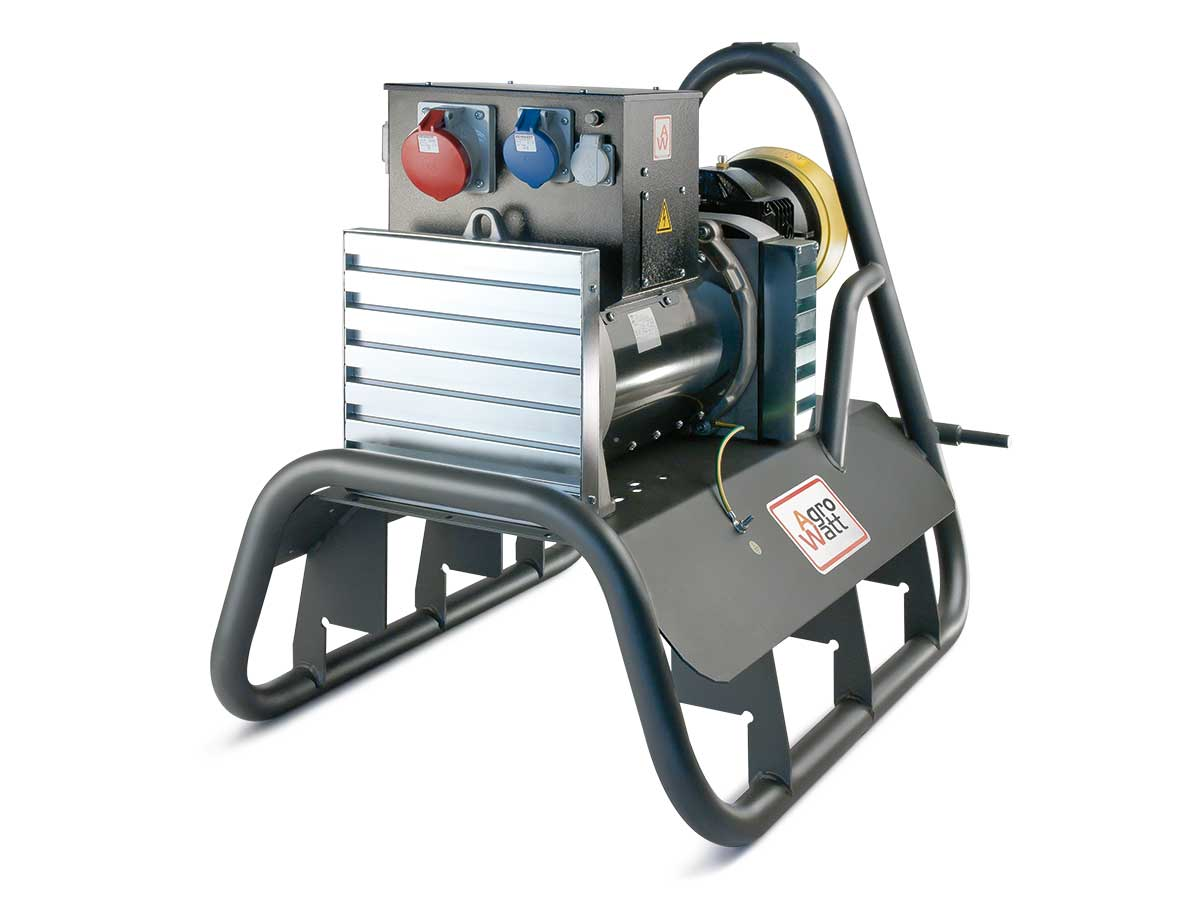 agrowatt pto generator ip44