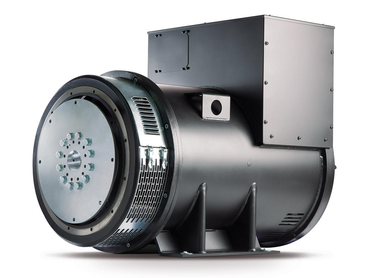 brushless industrial alternator 65 - 2600 kva