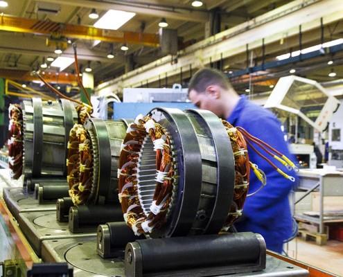 sogaenergyteam assembling industrial three phase generators