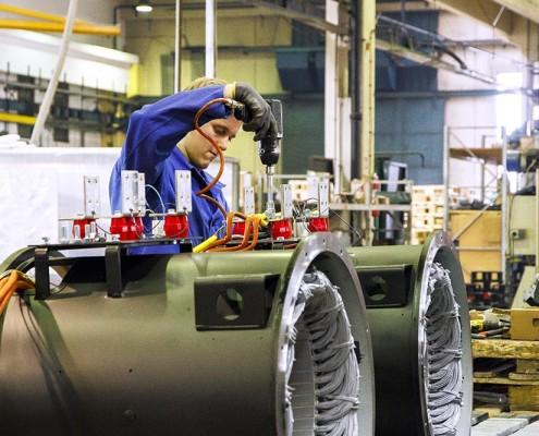 sogaenergyteam azienda assemblaggio alternatori industriali