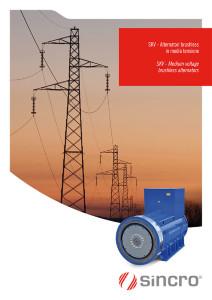 medium voltage alternator