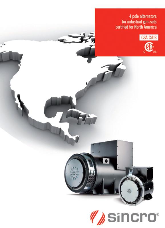 alternators for north america