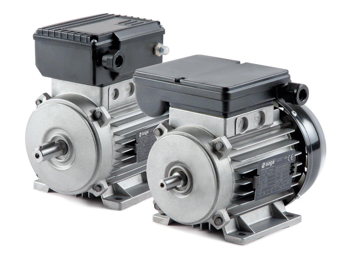 motori elettrici monofase standard e speciali