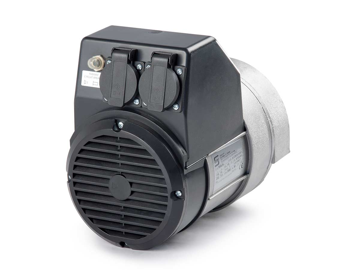 IP23 single phase 2 poles alternator