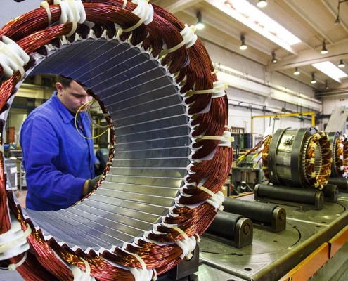 sogaenergyteam assembling industrial generators